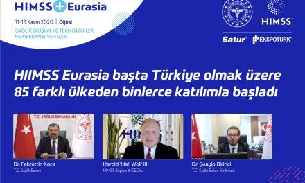 HIMSS + Eurasia  Sağlık Bilişimi Ve Teknolojileri Konferansı ve Fuarı Açıldı