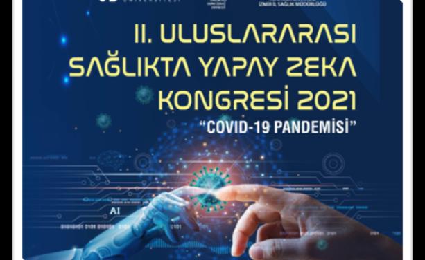 II. Uluslararası  Sağlıkta Yapay Zeka Kongresi Düzenleniyor